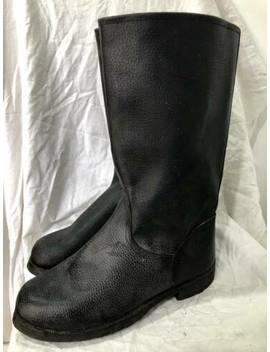 Soviet Russian Sapogi Military Kirza Sapogi Soldier Boots 43 by Ebay Seller