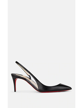 Optisexy Leather &Amp; Pvc Slingback Pumps by Christian Louboutin