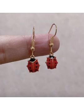 Ladybug Earrings🐞   Free Us Shipping ! Dm Me If You by Depop