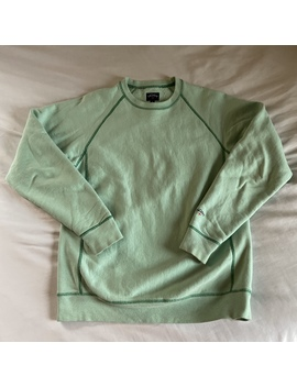 Mint Green Noah Ny Crew Neck Sweatshirt  #Noah by Depop