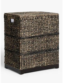 John Lewis & Partners Dipali Double Laundry Basket by John Lewis & Partners