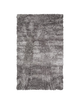 Shaggy Rug   Light Grey / 200cm by The Range