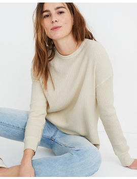 Rivet & Thread Oversized Long Sleeve Thermal Tee by Madewell