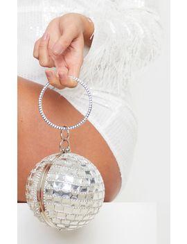 Silver Gemstone Sphere Bag by Prettylittlething