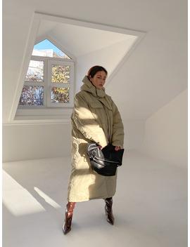 Long Hooded Utility Coat by Stylenanda