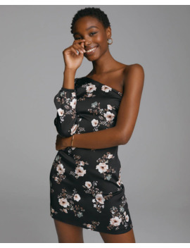 One Shoulder Mini Dress by Abercrombie & Fitch
