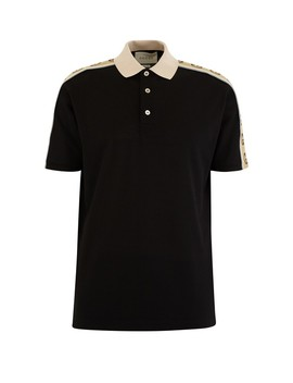 Gg Cotton Polo Shirt by Gucci