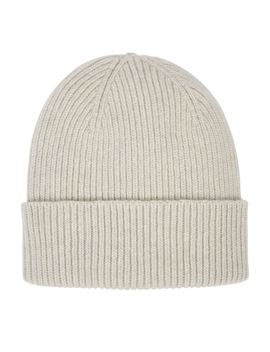 Light Grey Knitted Merino Wool Beanie by Colorful Standard