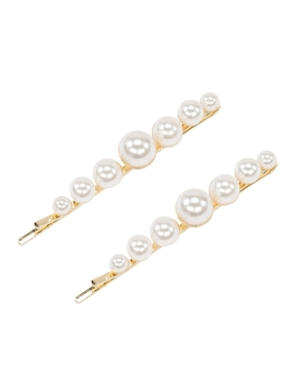 Joselyn Beaded Hair Clips   Set Of Two by Pico