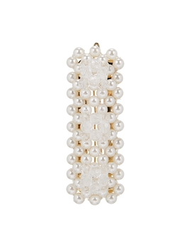 Antonia Barrette Faux Pearl Hair Clip by Shrimps