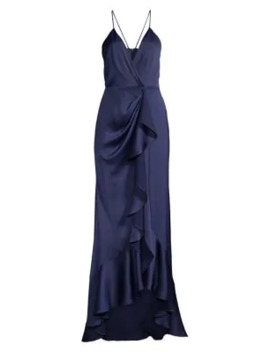 Elsie Ruffle Front Gown by Jay Godfrey