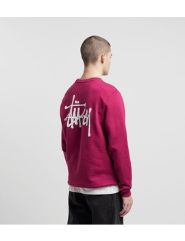 Stussy Basic Crew Sweatshirt by Stussy