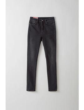 Jeans In Enger Passform Mit Hohem Bund Farbe by Acne Studios