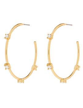 Crystal Hoop Earrings by Accessorize