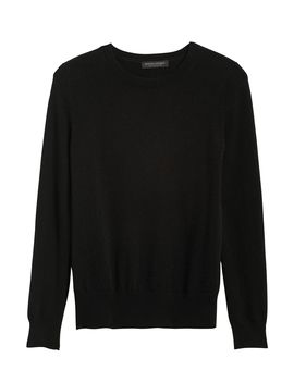 Cashmere Crew Neck Sweater by Banana Republic