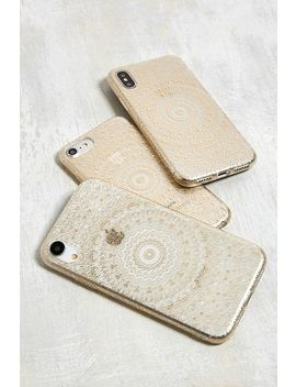 Gold Geo Print I Phone 6/6s/7/8 Case by Urban Outfitters