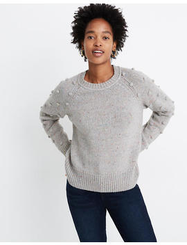 Palmroy Bobble Sleeve Pullover Sweater by Madewell