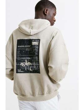 Uo Knowledge Stone Hoodie Sweatshirt by Urban Outfitters