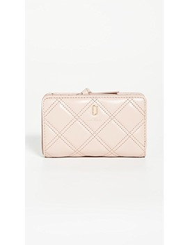The Quilted Softshot Compact Wallet by The Marc Jacobs
