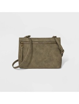 Zip Closure Crossbody Bag   Universal Thread™ by Universal Thread