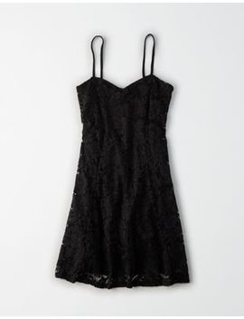 Ae Studio Lace Mini Dress by American Eagle Outfitters