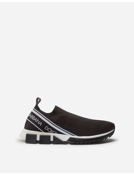 Stretch Mesh Sorrento Sneakers by Dolce&Gabbana