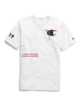 Exclusive Champion Life® Men's Heritage Tee, Champion Focus 4 by Champion