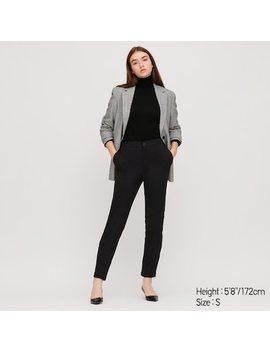 Women Heattech Warm Fleece Lined Trousers (58) by Uniqlo