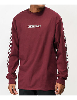 Vans Kaleidoscope Off The Wall Port Royale Long Sleeve T Shirt by Vans