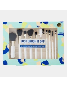 Tri Coastal Design Just Brush It Off Cosmetic Brush Set   10pc by Shop This Collection