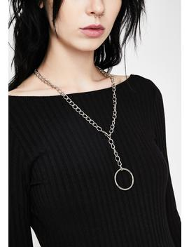 Rough Rebel Chain Necklace by Dolls Kill
