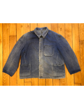 French Work Jacket by Vintage  ×