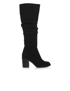 Lipsy Microfibe Ruched Longboots by Next