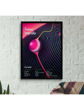 Tame Impala   Currents Wall Art, Poster, Print, Minimal by Etsy
