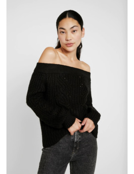 Nmphoebe Off Shoulder   Strickpullover by Noisy May Tall