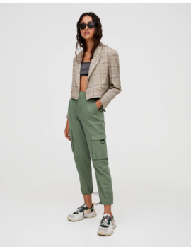 Cargo Pants With Pocket Rings by Pull & Bear