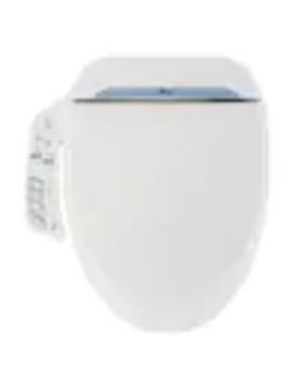 Bio Bidet Plastic Elongated Slow Close Heated Bidet Toilet Seat by Lowe's