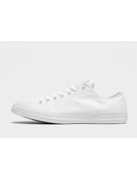 Converse All Star Ox Monochrome by Jd Sports