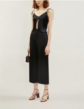 Jules Silk Satin Co Ord by Reformation