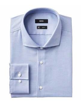 Slim Fit Travel Dress Shirt by Boss Slim Fit Travel Dress Shirt