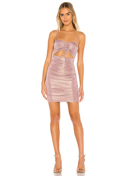 Ivanka Ruched Mini Dress by Superdown