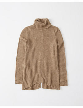 Split Back Turtleneck Sweater by Abercrombie & Fitch