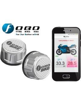 Fo Bo Bike   Zilver   Tpms   Bandendruk Meter   Bandenspanning   Bluetooth by Fo Bo Bike