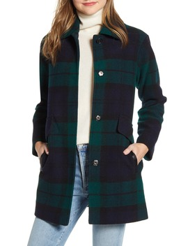 Mercer Island Wool Blend Barn Coat by Pendleton