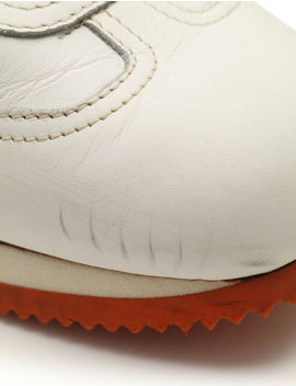 Hermes Quick Sneakers Leather White Orange by Ebay Seller