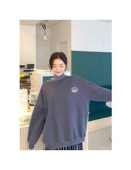Chuu   Graphic Print Oversize Sweatshirt by Chuu