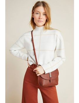 Ivanna Knit Mock Neck Top by Anthropologie