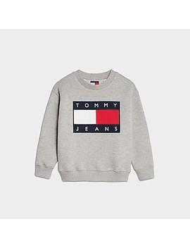 Tj Kids Flag Sweatshirt by Tommy Hilfiger