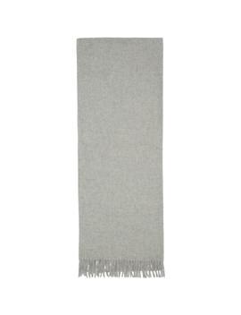 Grey Wool Classic Scarf by Rag & Bone