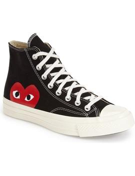 x-converse-chuck-taylor®-hidden-heart-high-top-sneaker by comme-des-garçons-play